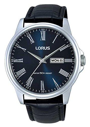 Lorus Herren Klassische Kleid mit Blau Zifferblatt rxn13dx9