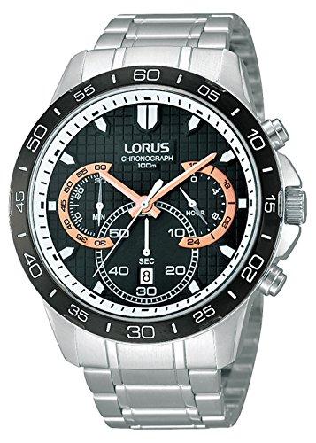 Lorus Herrenarmbanduhr Chronograph Edelstahl Armband RT397BX9