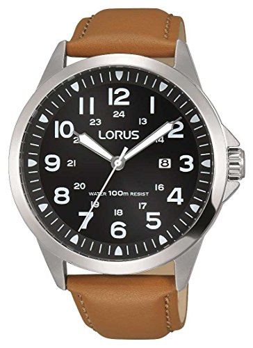 Lorus Analog Quartz Leder Transparent RH933GX9