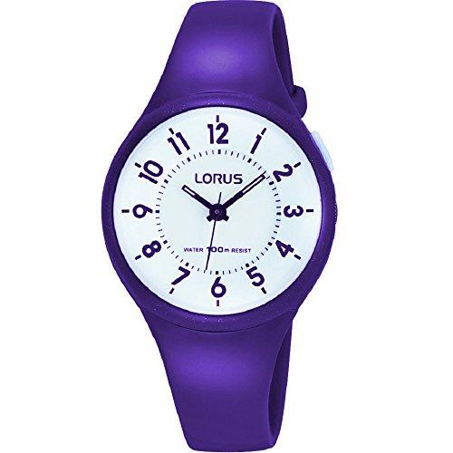 Lorus Kids Purple Strap Watch