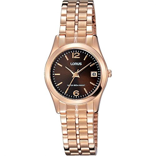 Lorus Ladies Rose Gold Plated Bracelet Watch