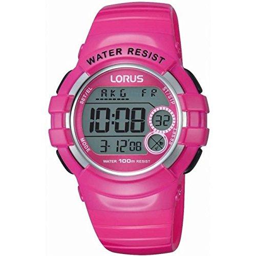 Lorus Pink Digital Watch