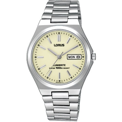 Lorus RXN31BX9 Mens Analogue Stainless Steel Strap Watch