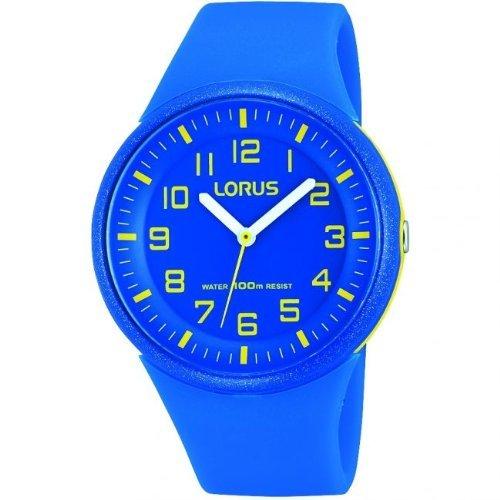 Lorus von Seiko RRX51DX9Unisex Blau Harz Strap Sport Watch