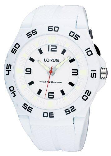 Lorus Unisex Armbanduhr XL Fashion Analog Quarz Kautschuk R2341FX9