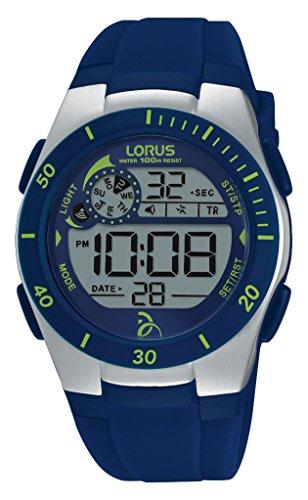 Lorus Watches Unisex Armbanduhr Novak Djokovic Foundation Digital Quarz Kautschuk R2377KX9