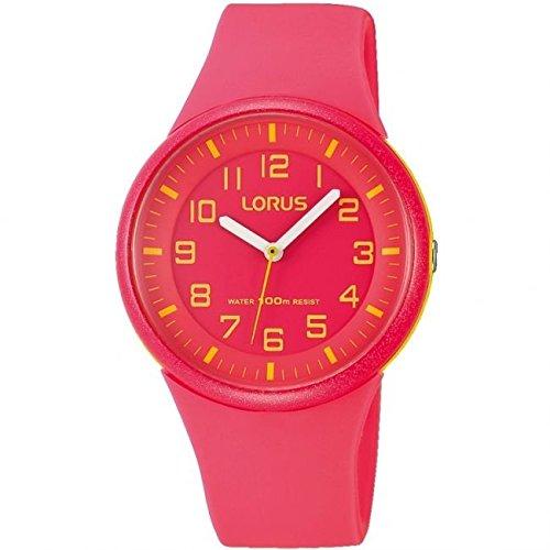 Lorus Unisex Red Strap Watch
