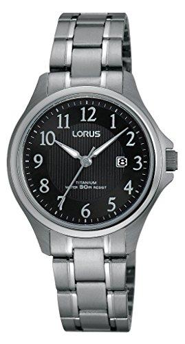 Lorus Watches Klassik Analog Quarz Titan RH721BX9