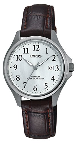 Lorus Watches Klassik Analog Quarz Leder RH727BX9