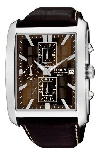 Lorus Watches XL HAU Urban Chrono ZB braun Chronograph Leder RM319BX9