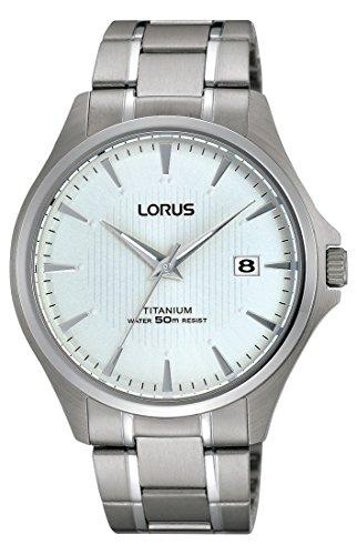 Lorus Watches Klassik Analog Quarz Titan RS933CX9