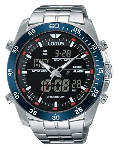 Lorus Watches Analog Quarz mit Edelstahlarmband RW623AX9