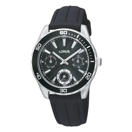 Lorus Watches XS DAU Women Fashion ZB schwarz Analog Leder RP633AX9