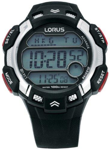 LORUS R2347CX9 Kinder Sports Digitaluhr schwarz