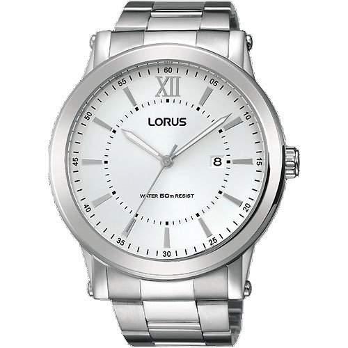 Uhr Lorus Clasico Rh905fx9 Herren Silber