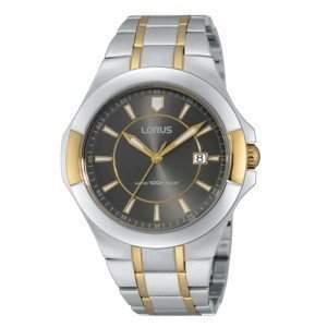 Lorus Herren-Armbanduhr XL Classic Analog Quarz Edelstahl RH942EX9