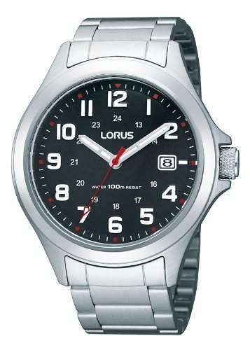 Lorus Herren-Armbanduhr Analog Edelstahl RXH01IX9