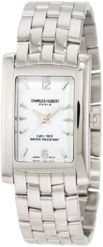Charles-Hubert Paris Herren 3666-WM Classic Collection Stainless Steel Armbanduhr