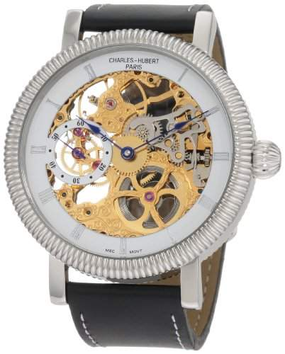 Charles Hubert Herren Mechanical Armbanduhr #3737-G