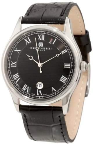 Charles-Hubert Paris Herren 3814-WB Premium Collection Stainless Steel Armbanduhr