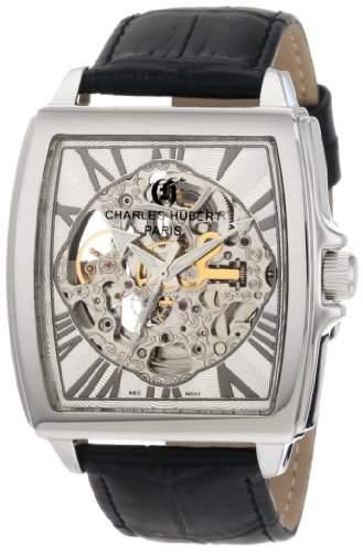 Charles-Hubert Paris Stainless Steel Automatic Armbanduhr 3888-B