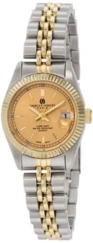 Charles-Hubert Paris Damen 6635-Y Premium Collection Armbanduhr