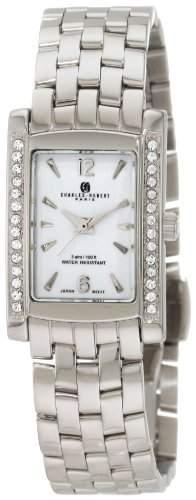 Charles-Hubert Paris Damen 6666-WM Classic Collection Armbanduhr