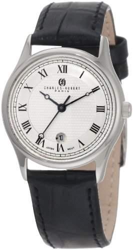 Charles-Hubert Paris Damen 6814-WW Premium Collection Stainless Steel Armbanduhr