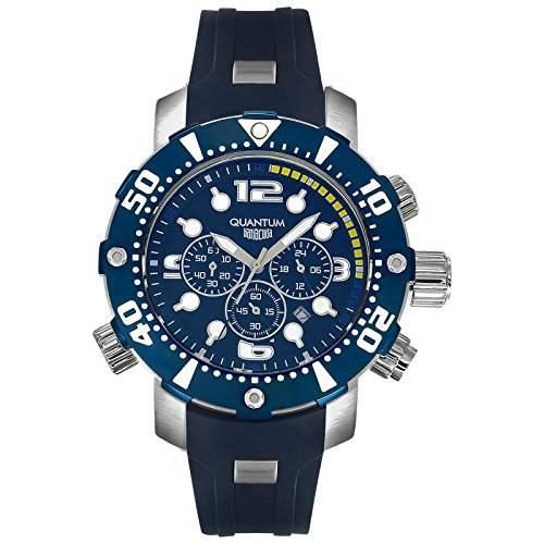 Quantum - Herren Chronograph - Barracuda - Chrono - blau - BAR833359