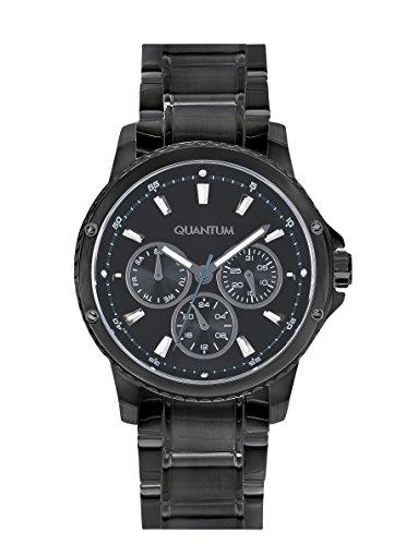 QUANTUM Maedchen Armbanduhr Impulse Chronograph Quarz Edelstahl beschichtet IML463 060