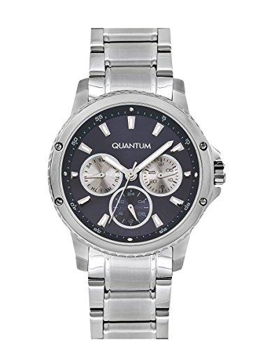 QUANTUM Impulse Chronograph Quarz Edelstahl IML463 390