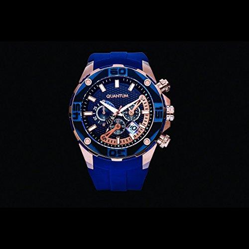 QUANTUM Explorer blau goldfarben EXG410 999
