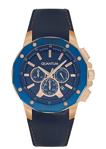 QUANTUM Explorer Chronograph Quarz Leder EXG382 999