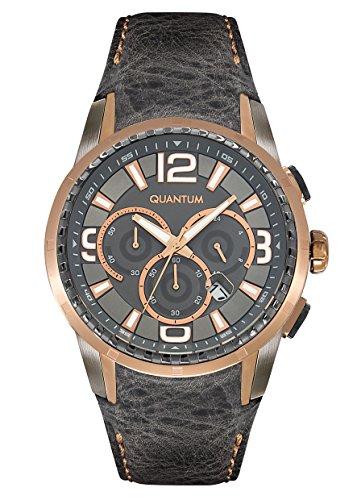 QUANTUM Explorer Chronograph Quarz Leder EXG417 466
