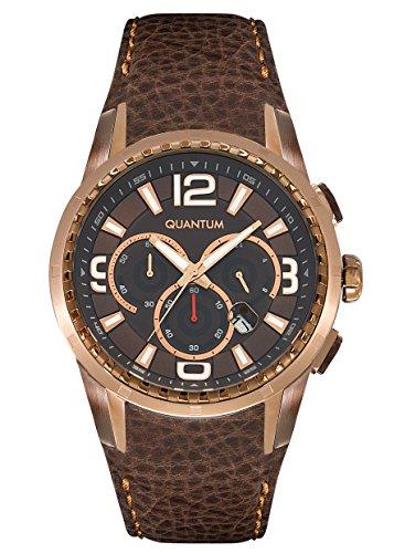 QUANTUM Explorer Chronograph Quarz Leder EXG417 742