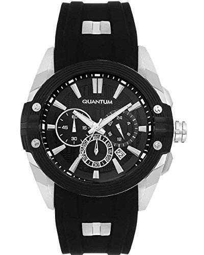 QUANTUM Hunter Chronograph Quarz Silikon HNG378 351