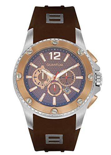 QUANTUM Herren Armbanduhr Hunter Chronograph Quarz Silikon HNG388 572