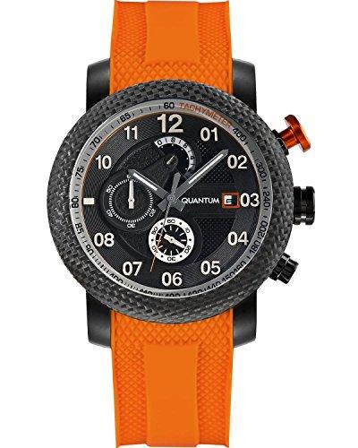 QUANTUM Herren Armbanduhr Hunter Chronograph Quarz Silikon PWG484 650