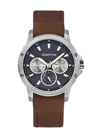 QUANTUM Impulse Chronograph Quarz Leder IML464 392