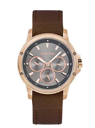 QUANTUM Maedchen Armbanduhr Impulse Chronograph Quarz Leder IML464 462