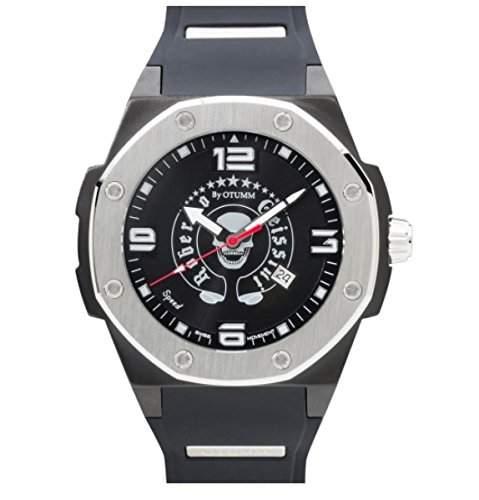 Roberto Geissini - WatchClassic Big Silver Herren Uhr