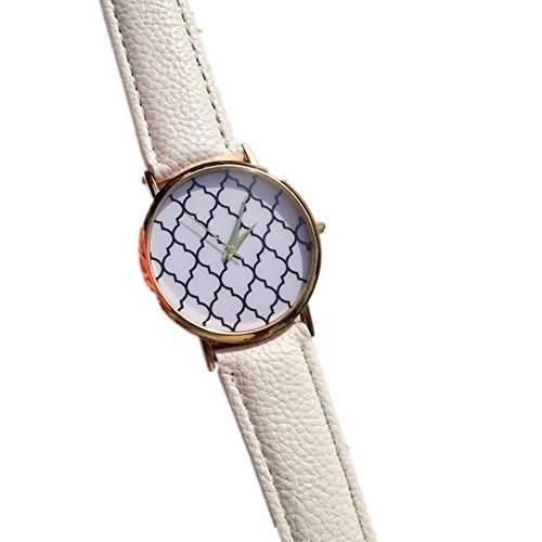 LI&HI Retro Unique Damen accessories Klassische Neutral-Quarzwerk Uhr Armbanduhr Quarz uhr Anhaenger Lederarmband Uhr Top Watch Vitalitaet Sommerschwarz