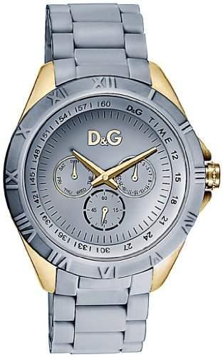 D&G Dolce&Gabbana Damen-Armbanduhr Chamonix Analog Kautschuk DW0781