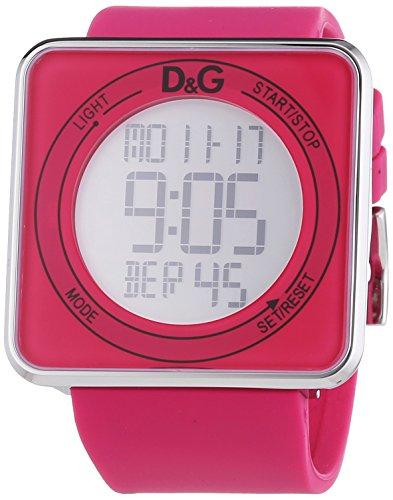 D G Dolce Gabbana XL Digital Quarz Kautschuk DW0737