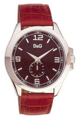 D G Dolce Gabbana XL Analog Leder DW0039