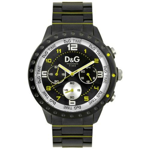 D G Dolce Gabbana Unisex Armbanduhr Analog Quarz Edelstahl DW0193