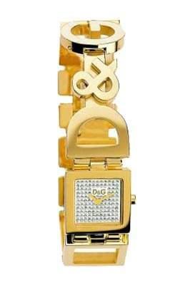 D&G Dolce&Gabbana Damen-Armbanduhr NIGHT & DAY IPG PAVE DIAL BRACELET DW0029