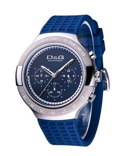 D&G Mens Juan collection Chrongraph Strap watch