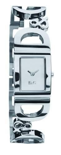 D&G Dolce&Gabbana-Damen-Armbanduhr IRELAND 2H BRC SILVER DIAL DW0494