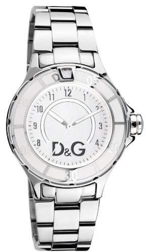 D&G Dolce&Gabbana Herren-Armbanduhr NEW ANCHOR SILVER DIAL SS BRC CASE SS WWHITE E DW0512